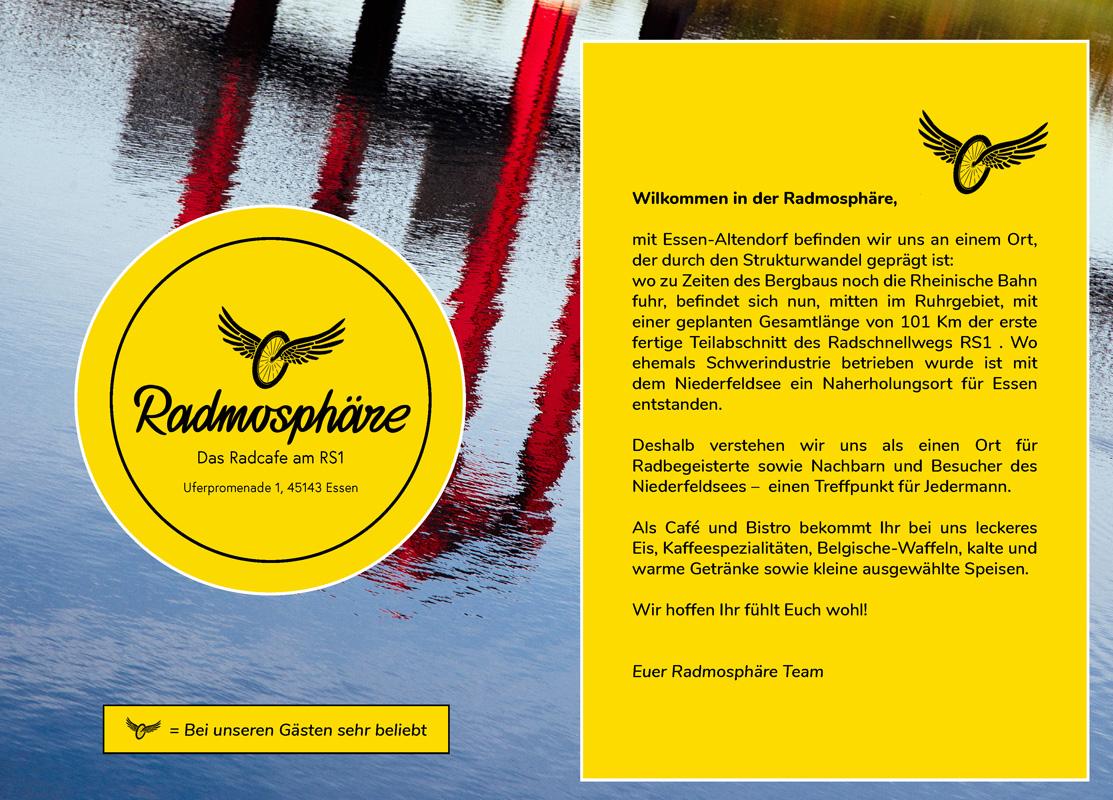 Radmosphaere Speisekarte Seite 2